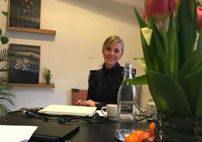 Business coachen Anne Pernille