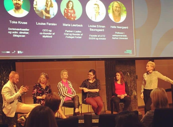 Paneldebat om kvindelige iværksættere