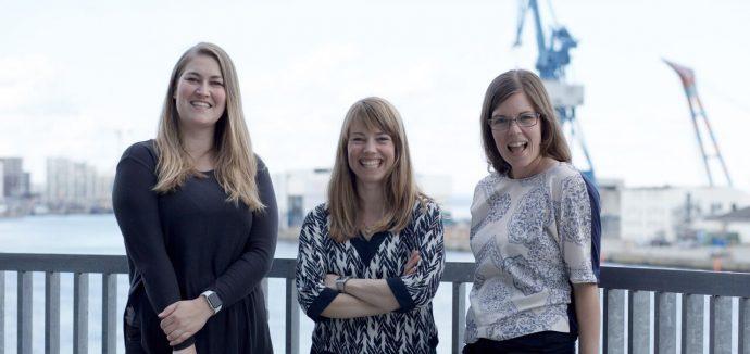 Foto: Katja Meyer, Marie Olofsen og Maria Leerbeck